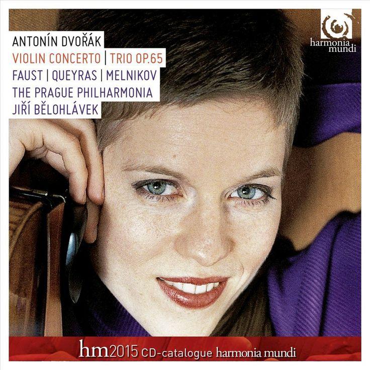 Isabelle Faust - Dvorák: Concerto pour violon et orchestra; Trio (CD)