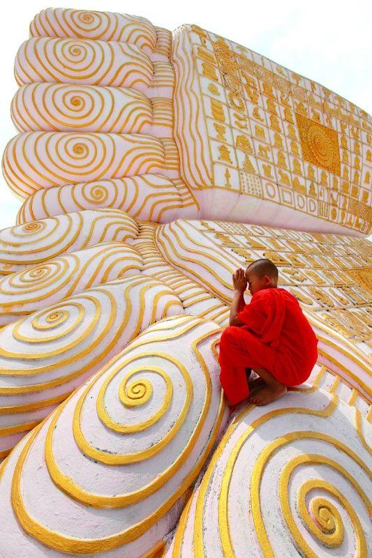 Buddha  39 s footprint