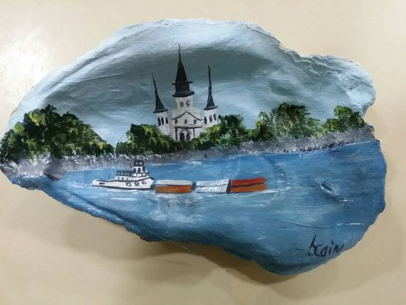 Hey, I found this really awesome Etsy listing at https://www.etsy.com/listing/230825215/oyster-shell-featuring-a-view-of-st