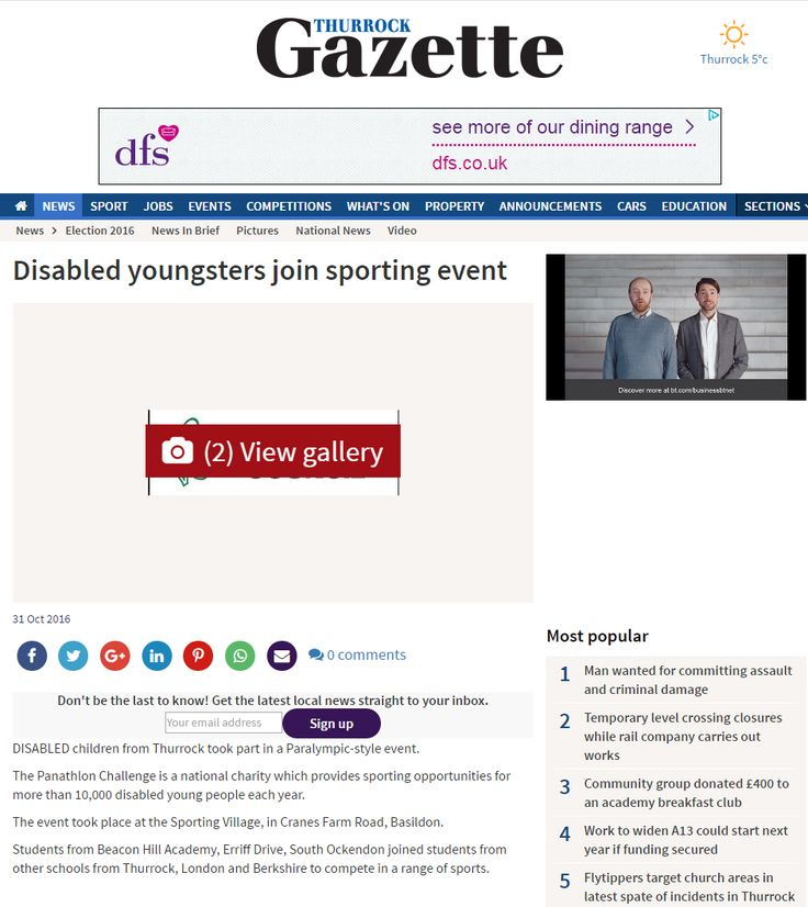 Thurrock Gazette, 31 October 2016
