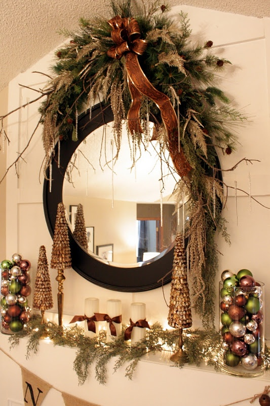 1000 Images About Christmas Swags And Arches On Pinterest
