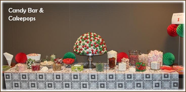 Sweet Table in kleuren van bedrijf...
