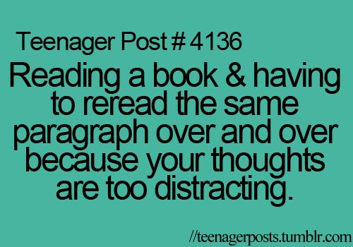 OMG can't even explain how many times I do this when reading a book.