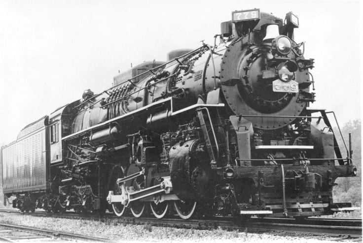 Nickel Plate Road #779 2-8-4 Berkshire | Railroad History ...