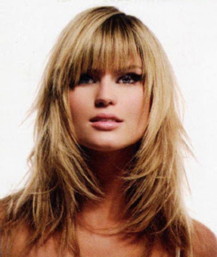 long layered shag haircut styles image - Shag Style for Cute Long ...