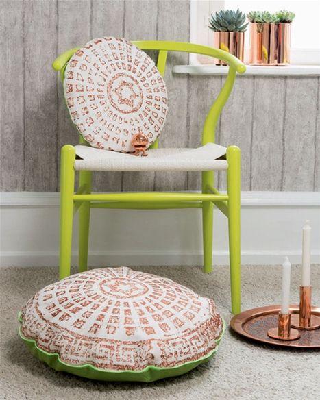 Kloakdæksler er ofte smukt dekorerede, og mønstrene er lige til at overføre til stof.