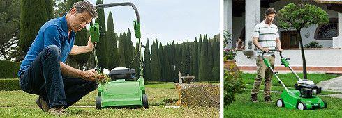 Vertikutieren – Wellness für den Rasen