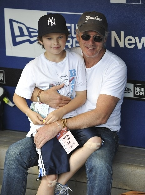 Richard Gere and son, Homer