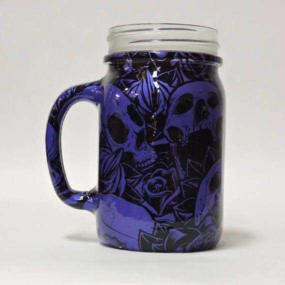 Hydro Dipped Drinking Jar