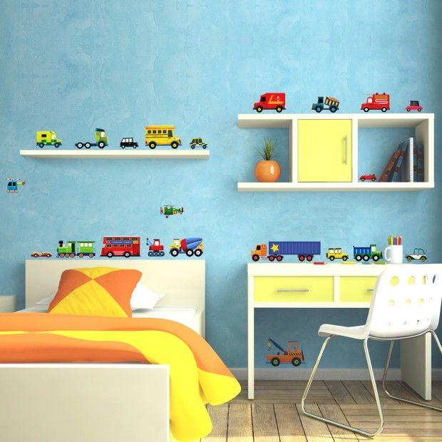Nice Lastwagen Kinderzimmer Junge Wandtattoo Aufkleber Ideen