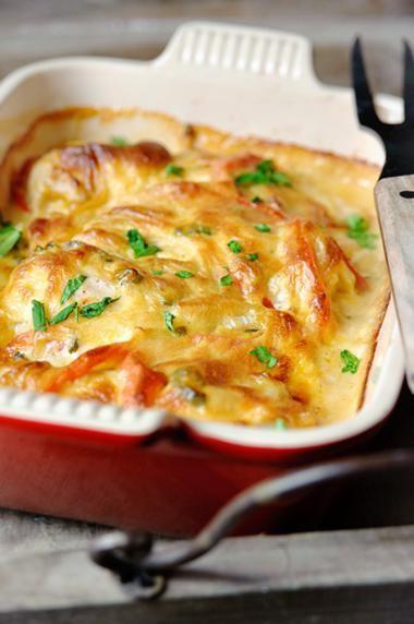 Pittige kip met jalapeno en cheddar