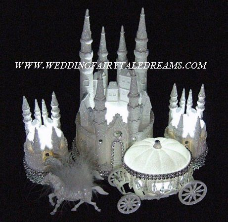 fairy castle wedding cake topper cinderella castle cake toppers lighted cinderella castle 14093