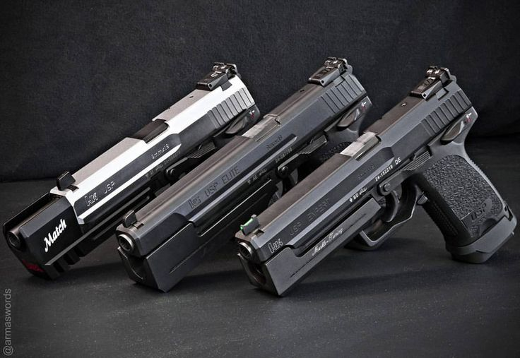 Manufacturer: Heckler & Koch Mod. USP Match / USP Elite / USP Expert Type - Tipo: Pistol Caliber - Calibre: 9 mm Capacity - Capacidade: 15 Rounds Barrel length - Comp.Cano: 4.25 Weight - Peso: 752...