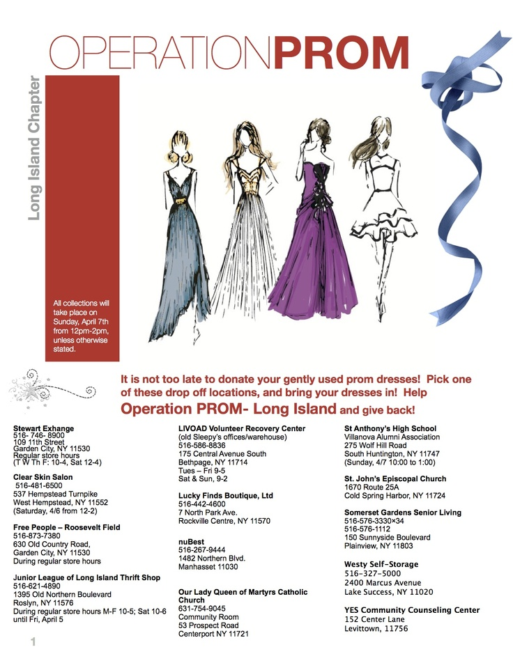 Donate Prom Dresses Rockland County Ny