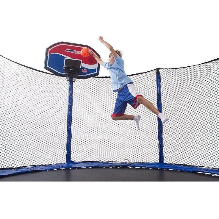 ProFlex Trampoline Basketball Set
