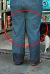 This is how the back of my pants usually look, RTW or sewn-by-me. I've been calling it the X-wrinkles. The X-wrinkles are wrinkles and fo...
