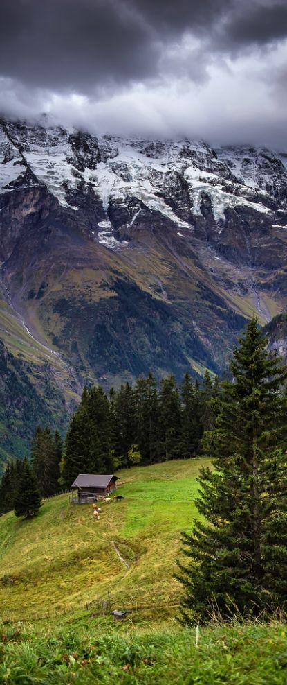 Mürren, Canton of Berne, Switzerland