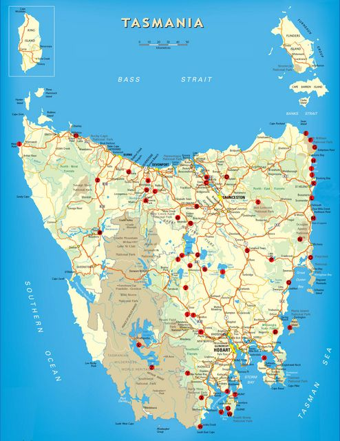 We created this map to show free or very low cost camping areas in Tasmania. Click on the map to get a full-sized view for printing. On this page, below the map, you'll find a legend that giv…