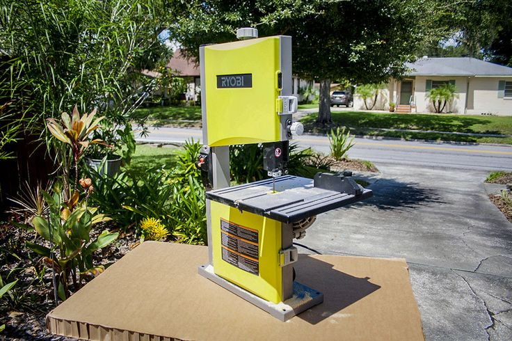 Ryobi 9-Inch Band Saw Review  The aspiring amateur #carpenter may not need to have a full sized #bandsaw at first. The #Ryobi 9-Inch Band Saw is a great place to start.  #woodworking #DIY #WeekendLife   http://www.protoolreviews.com/tools/power/cordless/saws-cordless/ryobi-9-inch-band-saw/25594/