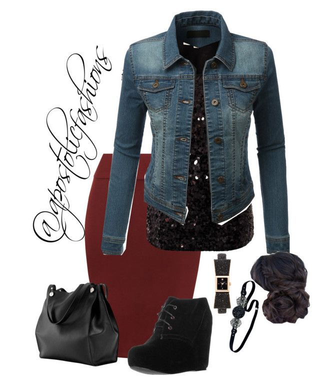 Apostolic Fashions #1668 by apostolicfashions on Polyvore featuring MICHAEL Michael Kors, LE3NO, WearAll, even&odd, Kate Spade and Jane Tran