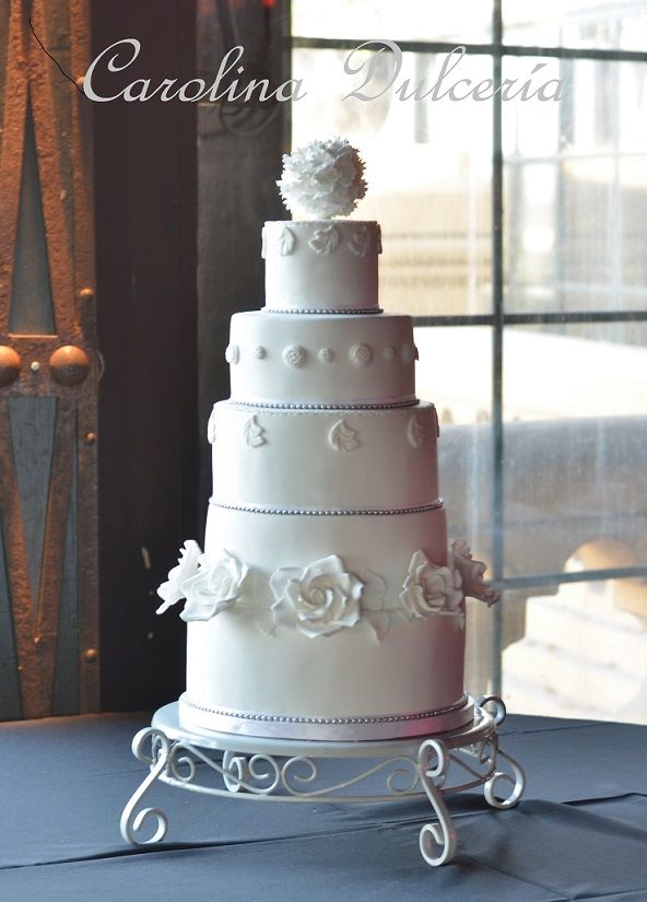 Baroque wedding cake, torta de novios barroca