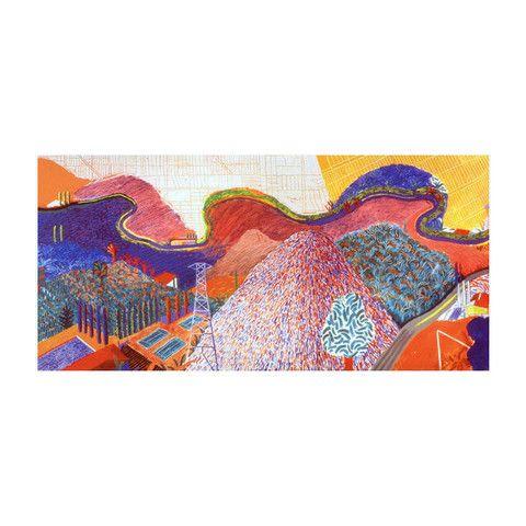 - David Hockney: Mulholland Drive