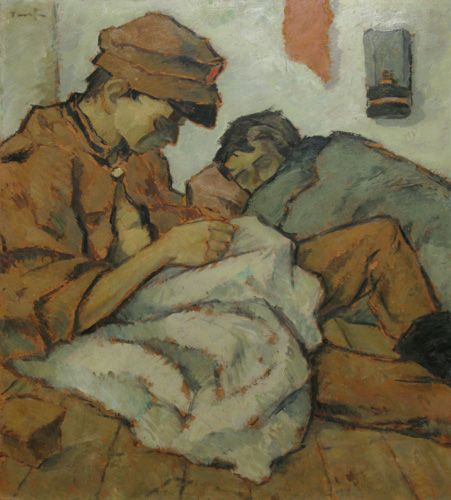 Nicolae Tonitza (Romanian: 1886-1940) | To light the lamp