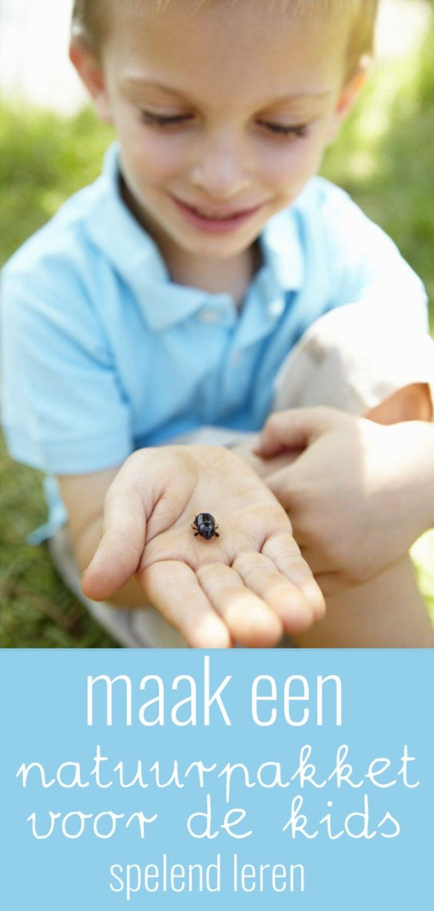Maak een natuurpakket voor kinderen en laat ze de wereld om zich heen op een leerzame en leuke manier ontdekken!