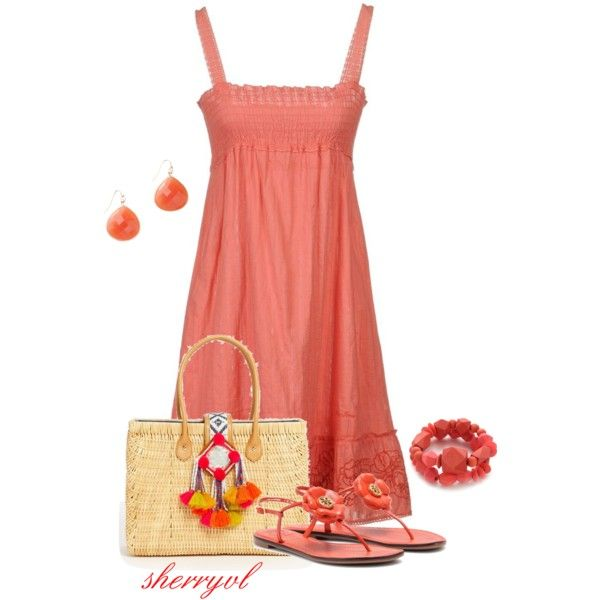 Pepe Jeans Dress And Wooden Jewelry, created by sherryvl on Polyvore
