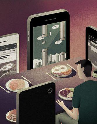 """Lo que no queremos ver sobre la sociedad moderna, en inquietantes ilustraciones """"Las creaciones del ilustrador Kai Ti Hsu ofrecen una mirada provocadora sobre la sociedad moderna a través de imágenes que pueden parecer simples, pero que suponen una crítica a los problemas con los que se enfrenta el mundo actual""""."""