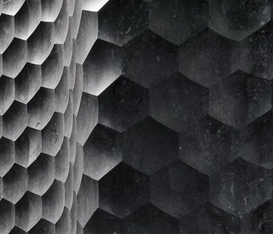 Favo curve by Lithos Design   Natural stone   Wall tiles