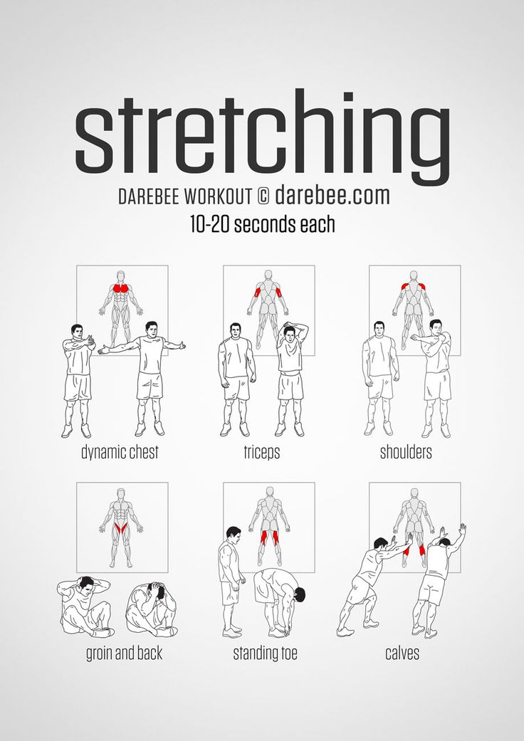 martial arts stretches poster pdf