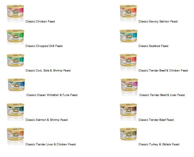 Diabetic Cats - Fancy Feast flavors containing no Wheat gluten , low carbohydrate Do not fee ANY DRY FOOD
