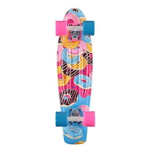 """Penny Sub Tropics Complete Skateboard, Sweet Tooth, 22 L by Penny. Penny Sub Tropics Complete Skateboard, Sweet Tooth, 22 L. 22""""."""