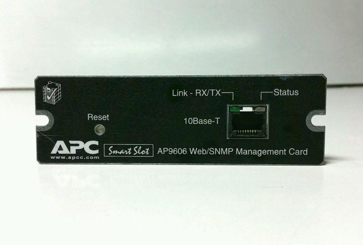 Apc Ap9606 Ups Smart Slot Web/Snmp Management Card 640-0823G