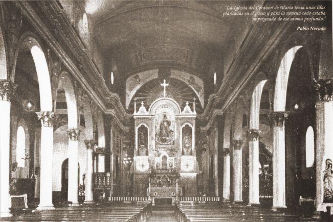 Nave Central del Templo Corazón de María.