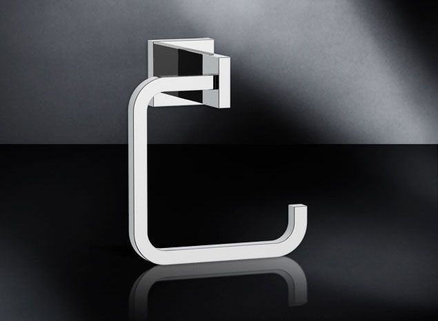 Modern Towel Ring  by Sherle Wagner