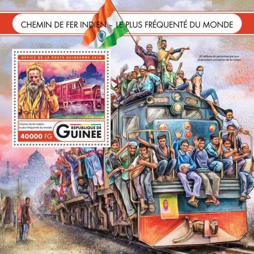 GU16418b Indian Railway (Indian Railways – the busiest in the world)