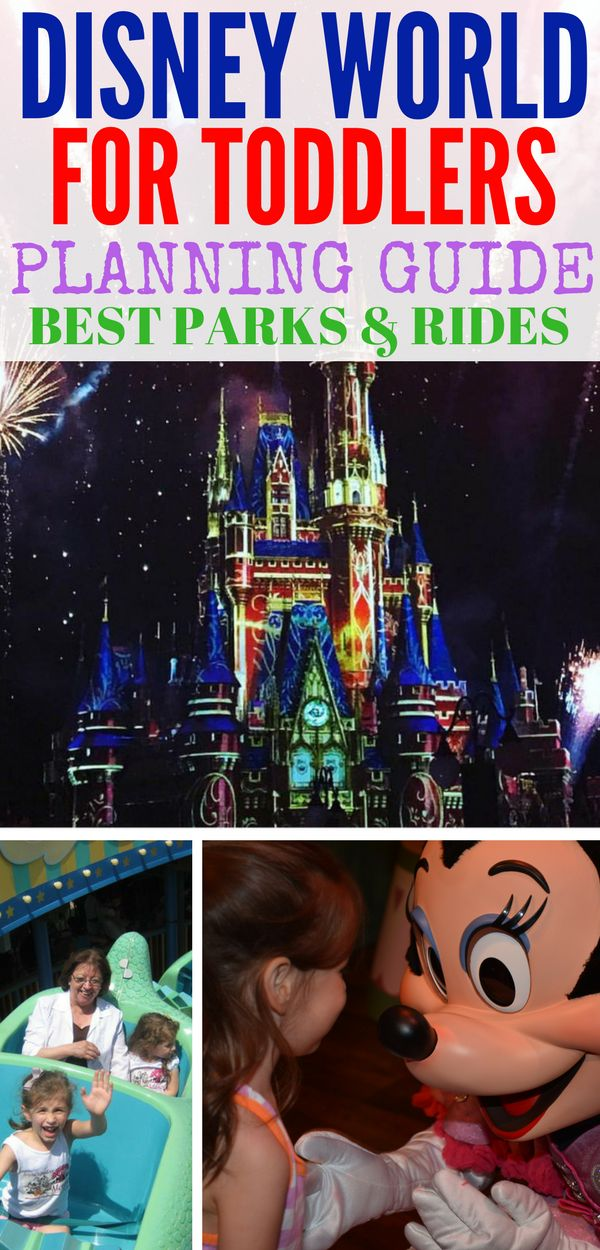 Planning a trip to Disney World with toddlers? Here are the best tips for traveling with toddlers and the best parks and rides at Disney World for toddlers. Also packing tips for little ones and how Magic Kingdom is the best park for them!