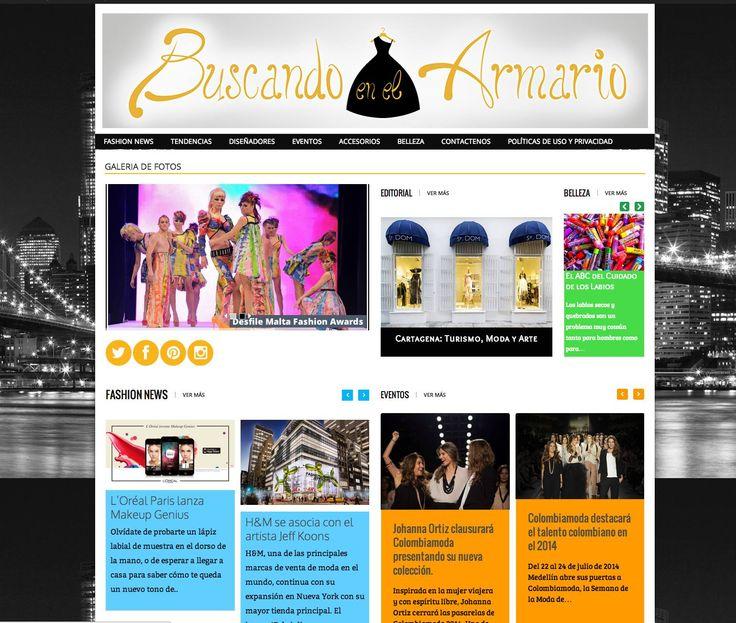 Conoce nuestra nueva pagina nuevas secciones, nuevo diseño y nuevos cajones dentro de este armario  visitanos www.buscandoenelarmario.com