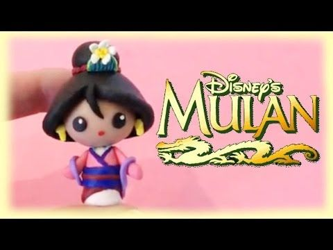 Disney Mulan Polymer Clay Tutorial - YouTube