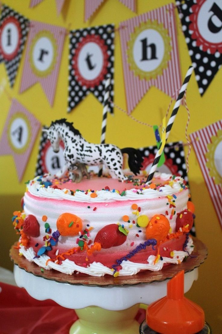 Aarlen s 3rd Birthday Pippi Longstocking Party Cake chicafashionblog