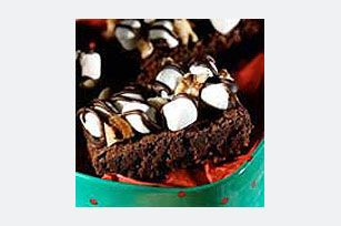 Rocky Road Brownies recipe, yup and caramel too to make it just like Zupa's!