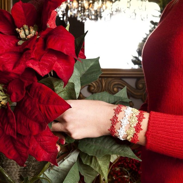 Cruciani Ail Star (in Ferrari red, gold, snow color and red lurex)