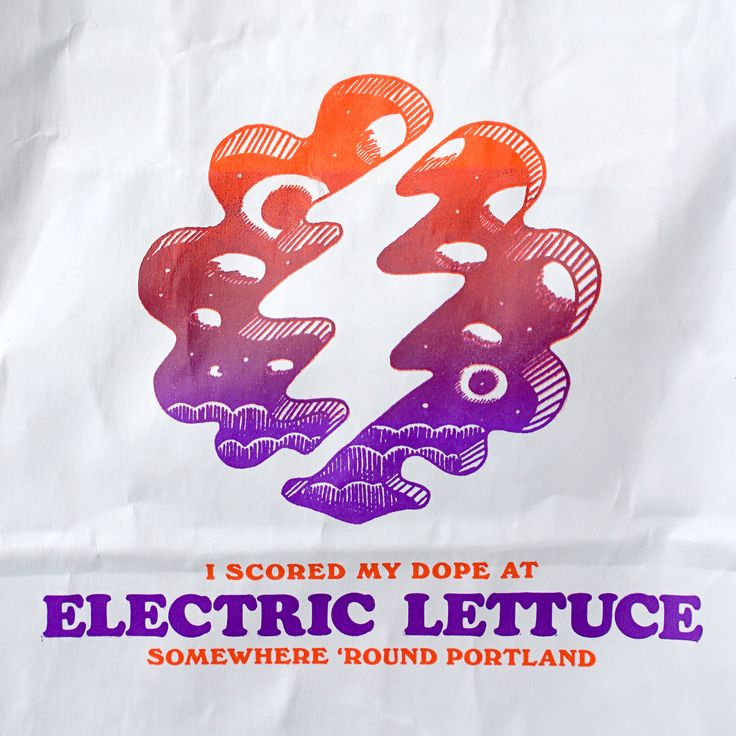 ELECTRIC LETTUCE Weed Store Branding Naming, art direction, mural design, writing and branding for a marijuana dispensary rooted in late 1960′s American counterculture. In addition to the brand work, I was tasked with buying, curating and styling...