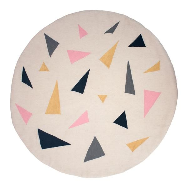 Confetti Round Rug 1 2 In 2020 Rugs Round Rugs Modern Rugs