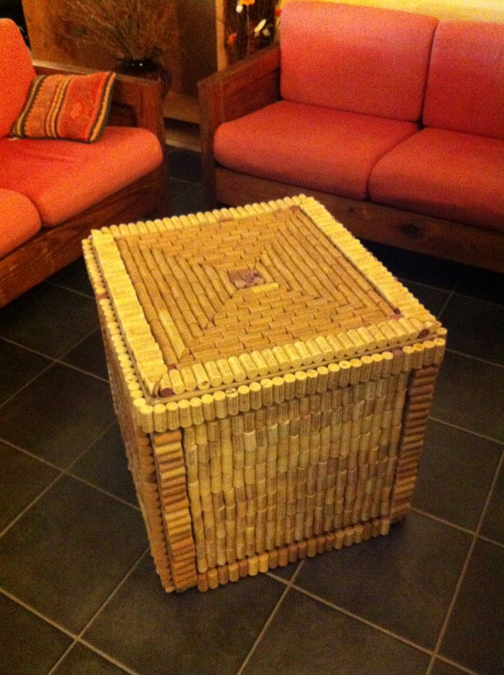 Cave Vineyard Cork Coffee Table Creative Uses For Wine Bottles And Corks Pinterest