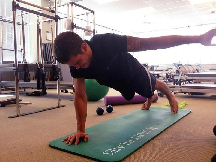 Hockey Players and Pilates Reformers