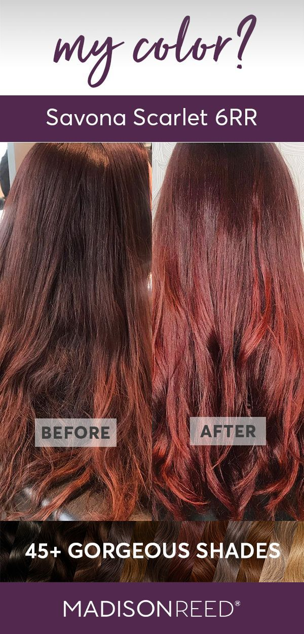 Savona Scarlet 6rr Rich Auburn With Red Tones Diy Hair Dye How To Dye Hair At Home Hair Color