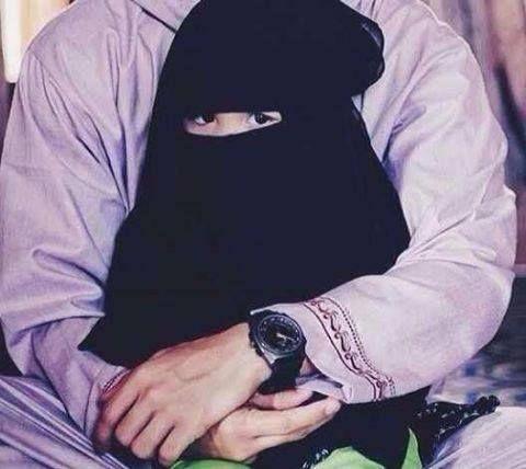 Isn't she a Muslim cutie?